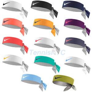 Nike Tennis Headbands Sweatband Head Tie Running Federer Nadal Delpo Ntn00 Ebay
