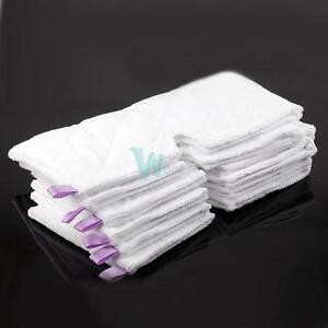 New-Micro-fibers-6-Replacement-Pads-for-Shark-Steam-Pocket-Mop-S3501-S3601-S3901