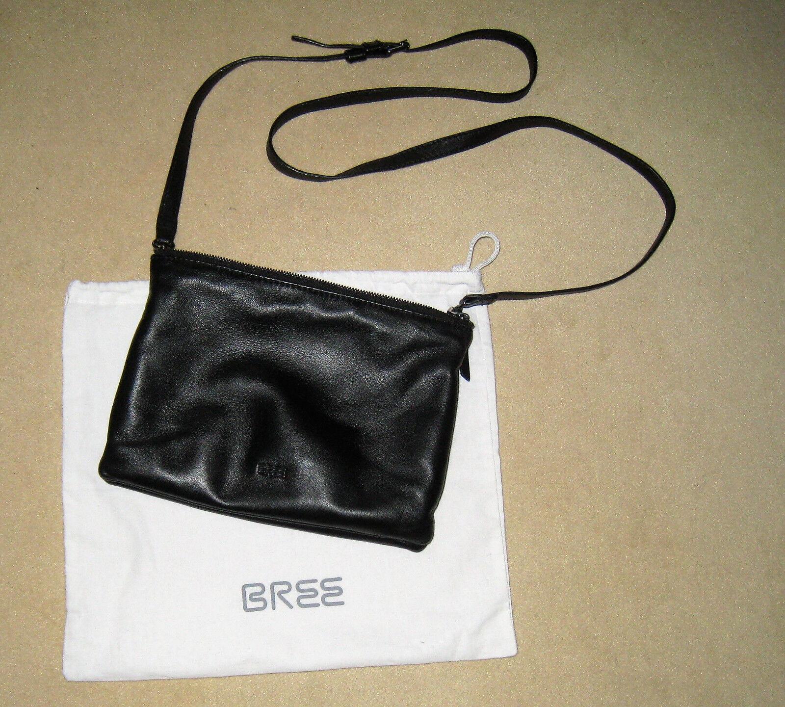 BREE Handtasche Brigitte 28 Clutch  Schwarz 17.5x2x25 17.5x2x25 17.5x2x25 cm   Exquisite (mittlere) Verarbeitung  9926bd
