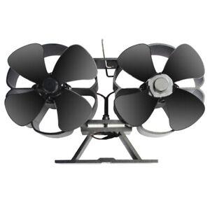 Ventilateur-de-Petite-Taille-a-8-Lames-pour-PoeLe-a-Bois-Double-Motors-Vent-N6I5