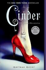 The Lunar Chronicles: Cinder 1 by Marissa Meyer (2013, Paperback)