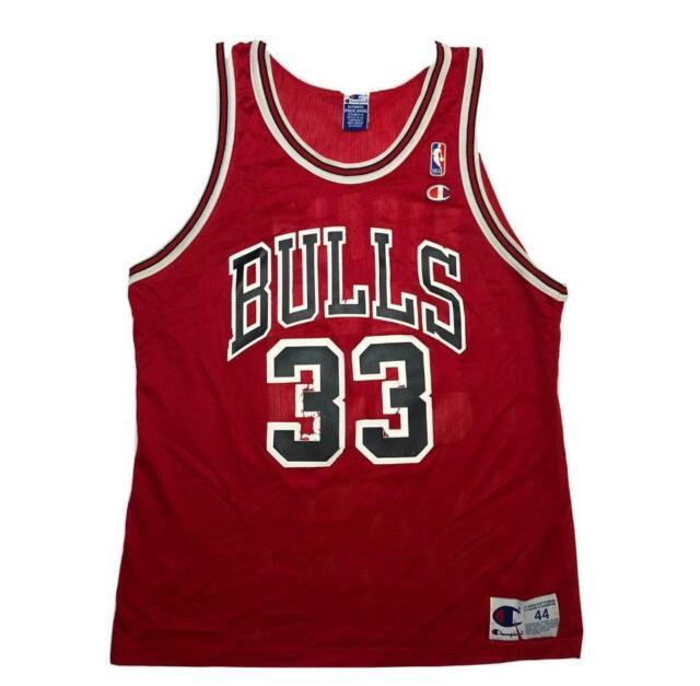 Scottie Pippen Chicago Bulls Vintage Throwback Swingman Jersey White New 33#
