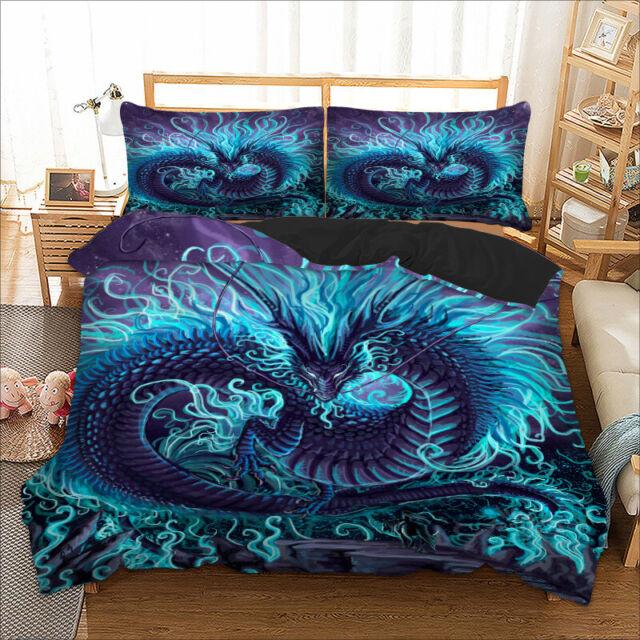 Super King Size Duvet Cover, Super King Bedding Set Blue