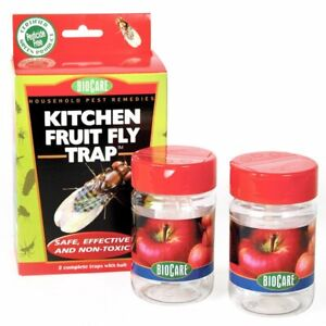 Springstar BioCare Kitchen Fruit Fly Traps - 2 Pack | eBay
