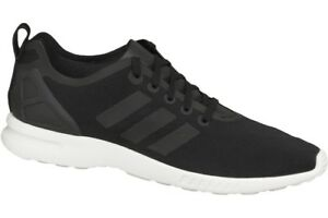 4c8ba7d87e194 adidas ZX Flux Smooth Women s Shoes SNEAKERS Black White S78964 ...