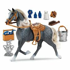 Deluxe Horse Morgan Toy Kids Play Set Grooming Girls Boys Sounds Saddle New