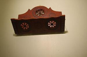 art-deco-French-QUIMPER-BRETON-Carved-Wooden-WOOD-letter-rack-holder