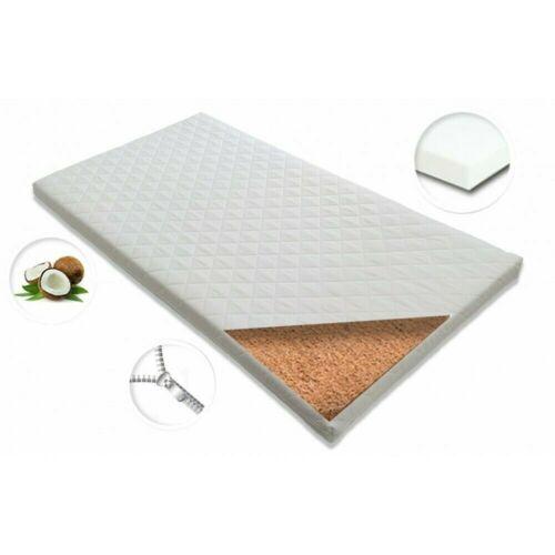 Kokos Kindermatratze Babymatratze Schaumstoff Matratze für Kinderbett 60x120x6cm