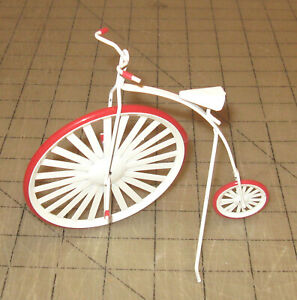 Vintage-4-amp-1-2-034-Tall-Doll-House-HIGH-WHEELER-BICYCLE-034-Highboy-034-Unbranded