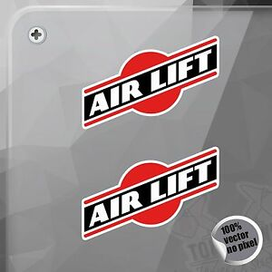 Detalles De Pegatina Logo Air Lift Performance Redondo Decal Vinyl Sticker Autocollant