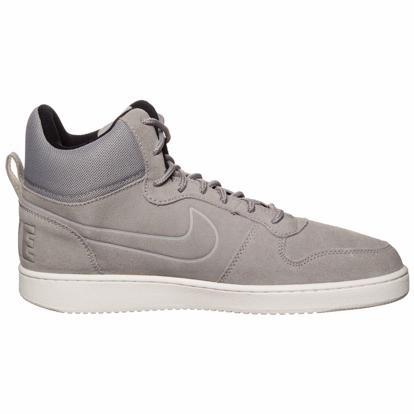 Nike - Court Borough Mid Prem - Scarpe Uomo - Cobblestone Sail - 844884 006 | Sensazione Di Comfort  | Sig/Sig Ra Scarpa