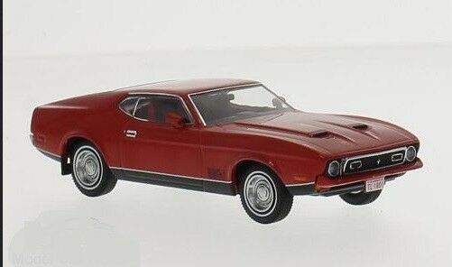 IXO Models Ford Mustang Mach 1 Red 1971 1 43 PRD396J