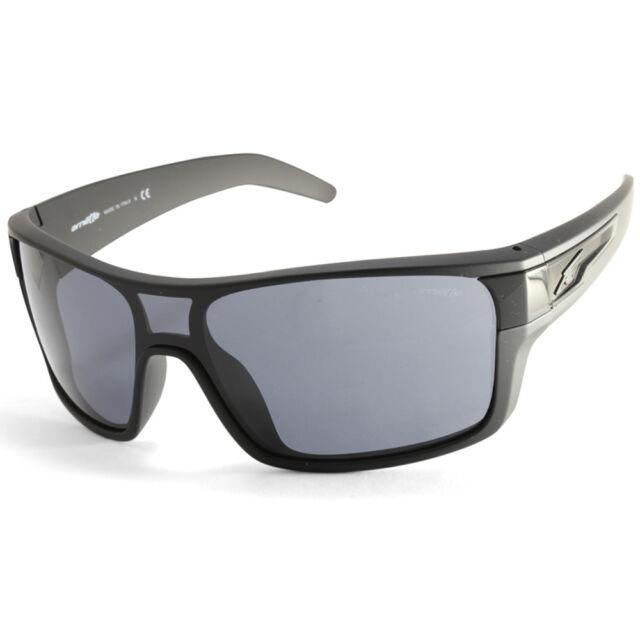 bd00a7067b Arnette Shore House AN4186 447 87 Matte Black Grey Men s Shield Sunglasses