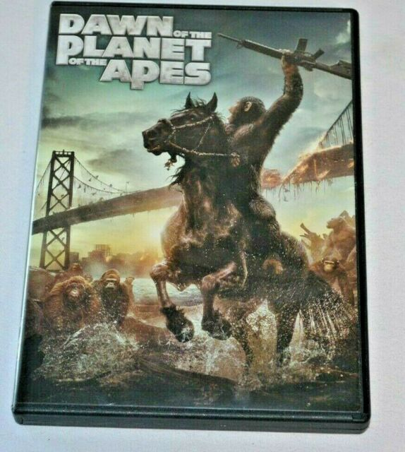 2014 DAWN OF THE PLANET OF THE APES DVD Movie | eBay