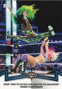 2018-Topps-Wwe-de-Mujer-Division-Cartas-Coleccionables-Momments-SDL-8-Naomi