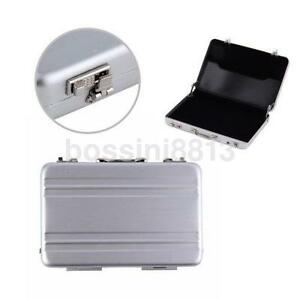 Newly design metal mini suitcase business card holder box case image is loading newly design metal mini suitcase business card holder colourmoves