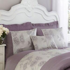 Light-Purple-amp-Grey-Duvet-Cover-Set-Charlotte-Thomas-Antonia-Collection