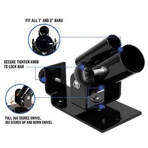"Universal T-Bar Row Platform – 360° Swivel Landmine For All Bars from 1"" to 2"""