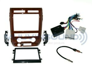 Details about Radio Stereo Dash Kit Combo 2DIN MILANO MAPLE WOOD + on