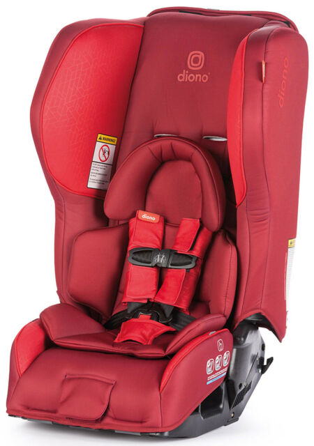 Diono Rainier 2 AX Convertible Child Safety Car Seat Booster 2018 Red