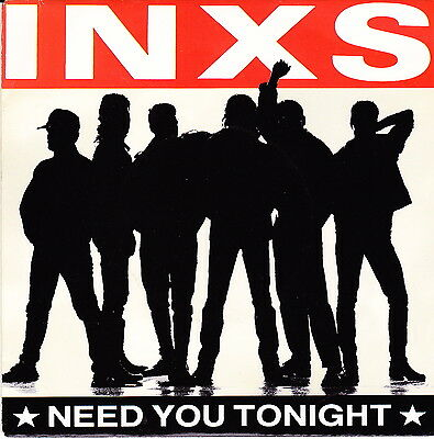 "INXS /""NEED YOU TONIGHT/"" Retro Album Cover Poster Various Sizes"