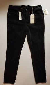 Womens-Lucky-Brand-Stretch-Emma-Pants-BLACK-SLIMMING-14W-16W-18W-20W-22W-24W