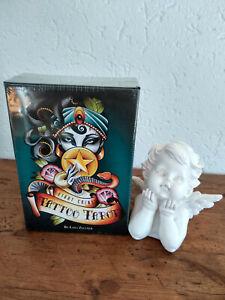 Tatoo-tarot-Jeu-de-tarot-divinatoire-neuf-sous-emballage-en-Anglais-82-cartes