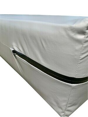 can use cleaners SEE VIDEO Twin Size Hospital Grade Water Proof Mattress Cover