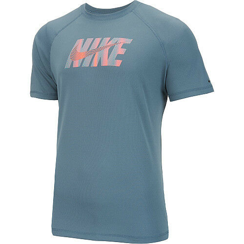 09c27c97d3f2a4 Nike Ness6448 483 Hydro UV Eclipse Wave Logo Short Sleeve T-shirt Men s  Size S p