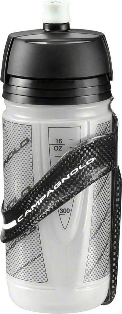 NEW Campagnolo Super  Record Carbon Water Bottle Cage with Bottle  good reputation