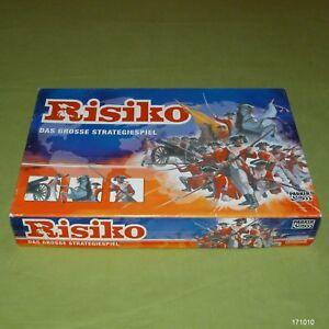Risiko-mit-Miniaturfiguren-amp-goldenem-Kavallerist-2004-Parker-Komplett-1A-Top