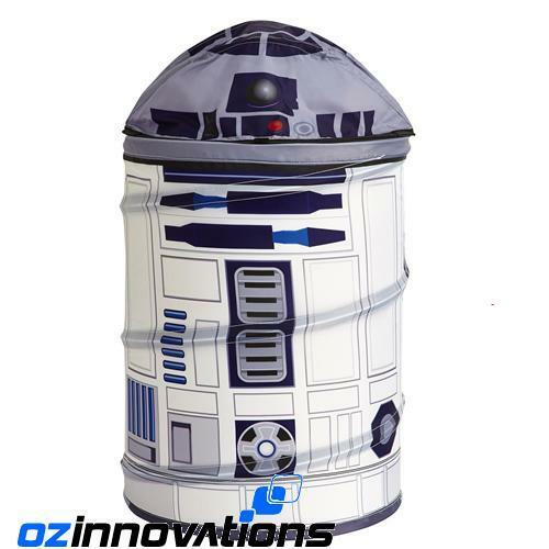 Star Wars R2-D2 Collapsible Pop Up Car Storage Bin Toy Box Travel Laundry