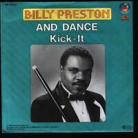 "7"" Billy Preston And Dance / Kick-It 80`s Intercord Blow Up"