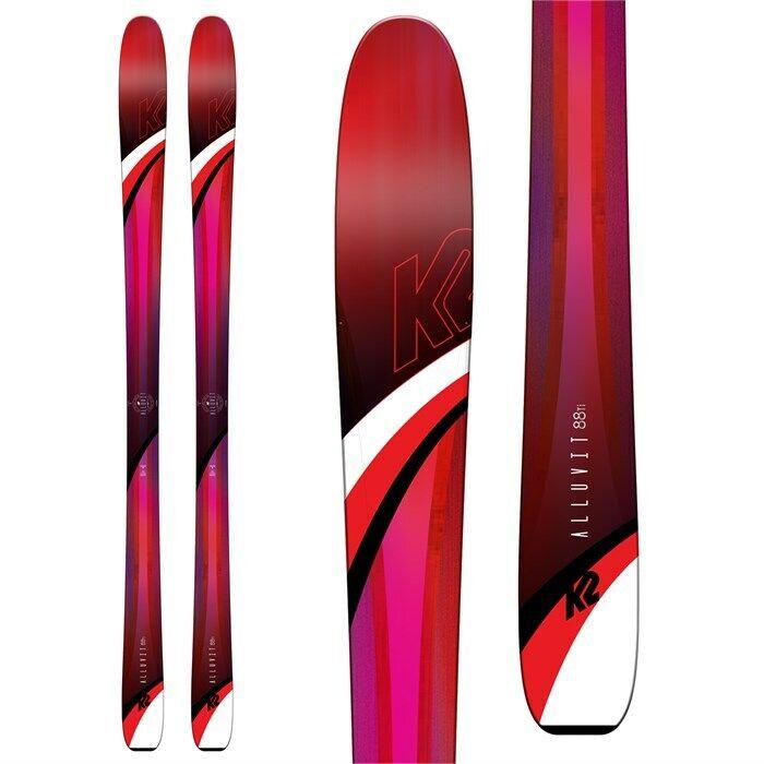 2019 K2 SKIS ALLUVIT 88 Ti 156cm Skis NEW