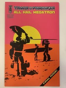 IDW TRANSFORMERS : ALL HAIL MEGATRON #16 LONG BEACH COMIC CON COVER : NM : RARE!