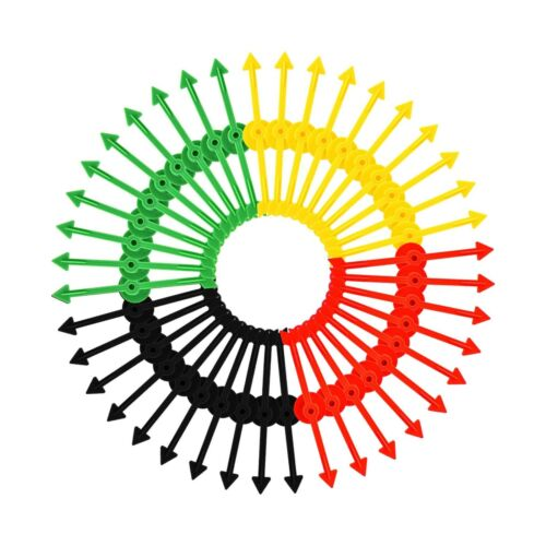 Details about  /Tatuo 40 Pieces Arrow Spinners Board Game Spinner Arrow Toys for Party School...