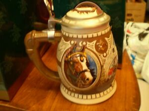 Anheuser-Busch-Stein-Members-Only-1995-Clydesdales-at-the-Bauernhof-CB1