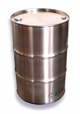 "205L 304 STAINLESS STEEL DRUM - FOOD GRADE - TIGHT HEAD with 2 BUNGS [2"" & ¾""]"