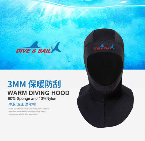 KJ837 3MM Neoprene Hoods Wetsuit Diving Surf