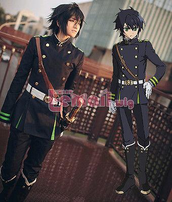Seraph Of The End Yuichiro Hyakuya Uniform Outfit Cosplay Costumes Whole Set