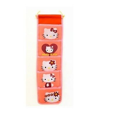 HK Cartoon closet Room Wall Door Hanging Storage Organizer Bag Pouch case Holder