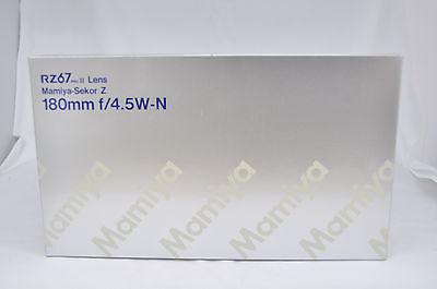 Brand new !! Mamiya Sekor Z 180mm f/4.5 W-N RZ67 pro II Lens