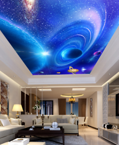 3D Beautiful Planet 75 Ceiling Wall Paper Print Wall Indoor Wall Murals CA Lemon