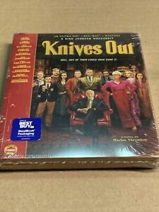 Knives Out STEELBOOK (4K Ultra HD, Blu-Ray, Digital)  NEW!