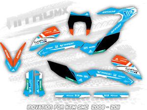 NitroMX Graphic Kit for KTM SMC SMC-R 690 2019 2020 Supermoto Decals Stickers