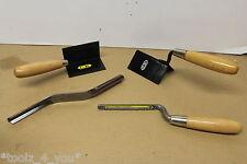 Lote de 4 nuevos puestos de trabajo herramientas de construcción de CK 2x esquina paletas y 2x punteros