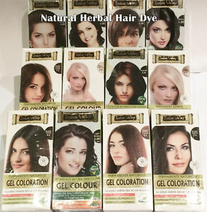 Natural Perm Hair Colour Dye NO PPD Lead Free No Ammonia No Peroxide ...