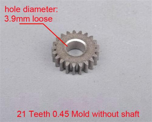 New 0.4 0.45 0.8 Mold Metal Gear Wheel Motor Gear Transmission Box Gear Gearbox