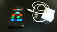 Wireless DMX stage lighting controller Android phone.