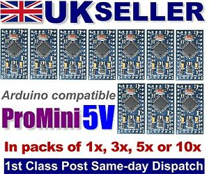 Arduino-5v-Pro-mini-compatible-boards-Multipacks-NEW-amp-TESTED-UK-STOCK